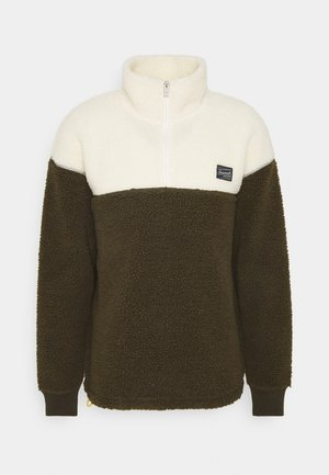 JOROVER HALF ZIP - Fleecegenser - forest night
