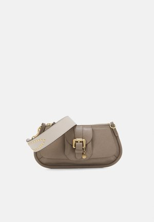 LESLY BAGUETTE - Across body bag - motty grey