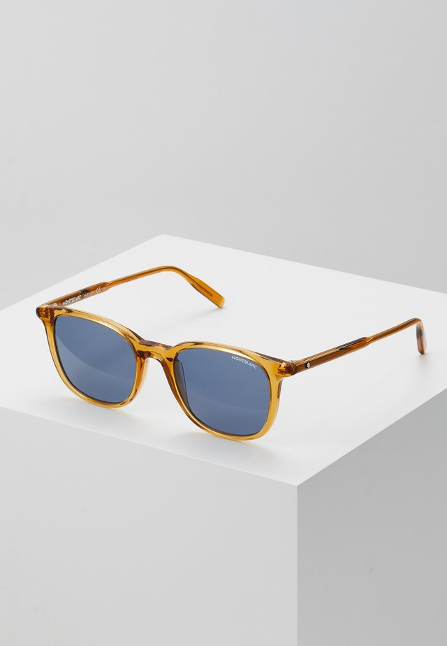 Sunglasses - yellow/blue