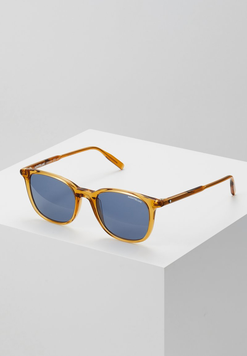 Mont Blanc - Sunglasses - yellow/blue