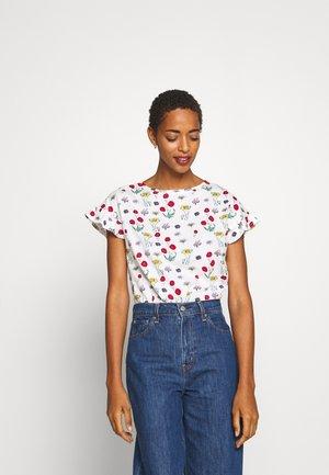 VOLANTE - Print T-shirt - white