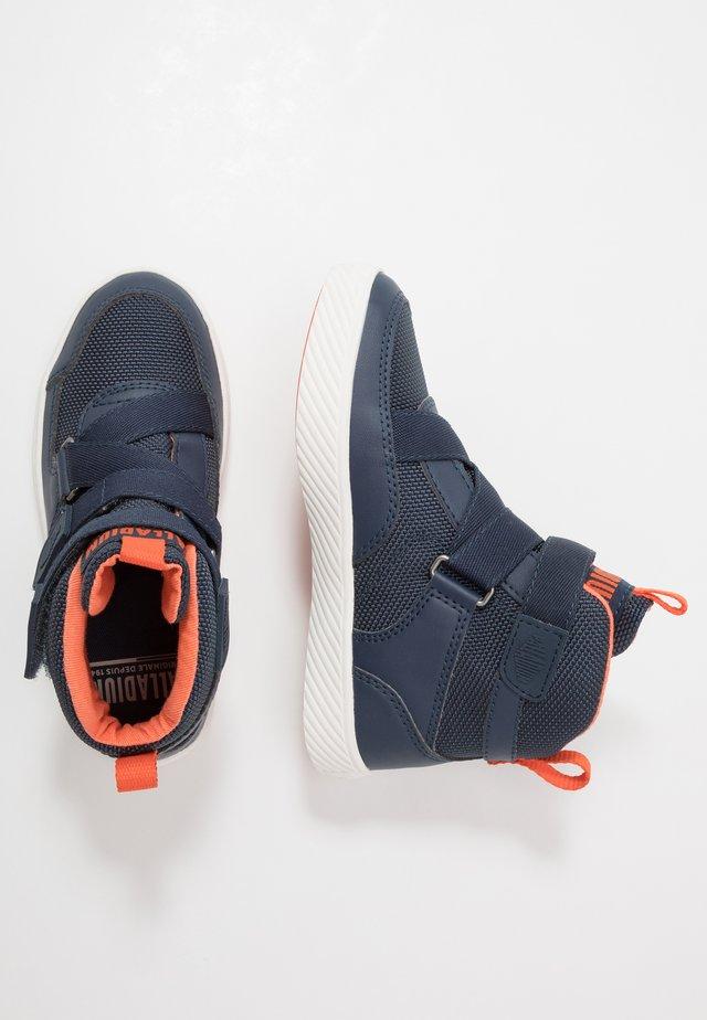 PALLASTREET MID - Sneakers alte - mood indigo/firecracker