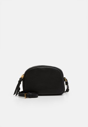 DEVON CAMERA BAG DETACHABLE STRAP - Taška s příčným popruhem - black