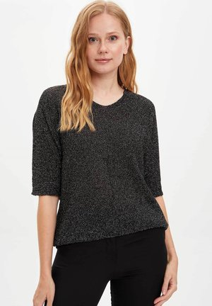 JUMPER - Neule - black
