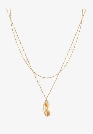 MUSCHEL  - Náhrdelník - gold