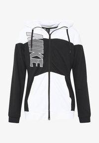 Nike Performance - Zip-up hoodie - black/white - 4