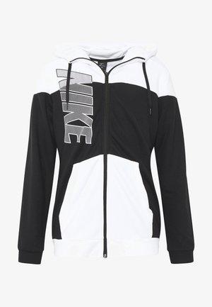 Sweatjacke - black/white