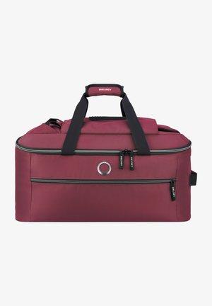 Weekend bag - burgundy red
