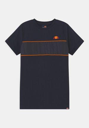 ZABAGLIONE  - Print T-shirt - navy