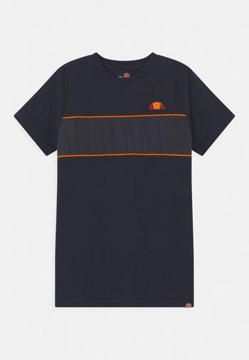 ZABAGLIONE  - Camiseta estampada - navy