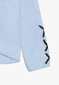 River Island - Stickad tröja - blue - 3