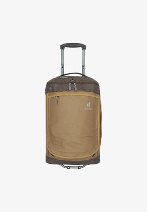 Wheeled suitcase - clay-coffee