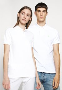 Polo Ralph Lauren - BASIC - Polo - white/ant neon - 0