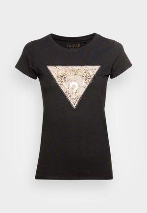 GHOST LOGO - Camiseta estampada - jet black