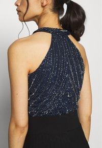 Lace & Beads Petite - ROSETTE BODYSUIT - Bluser - navy - 4