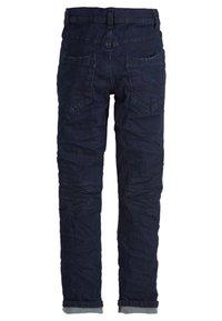 s.Oliver - SEATTLE - Straight leg jeans - dark blue denim stretch - 1
