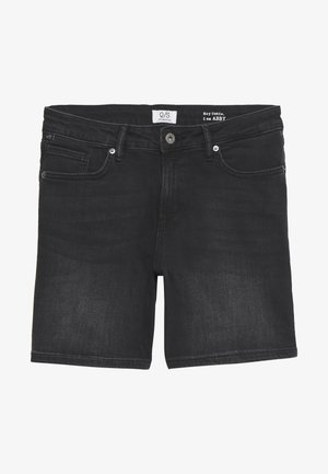KURZ - Denim shorts - denim grey