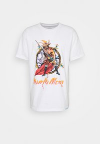 Diamond Supply Co. - NO MERCY TEE - Triko spotiskem - white - 4