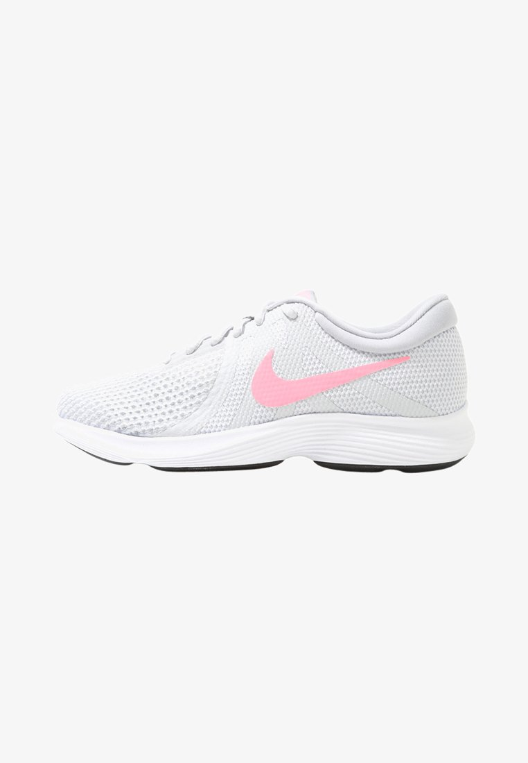 Nike Performance - WMNS REVOLUTION 4 EU - Neutral running shoes - pure platinum/sunset pulse/wolf grey/black