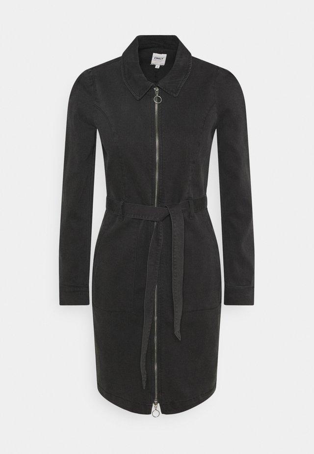 ONLNEW CHIGO DRESS - Jeanskleid - black denim