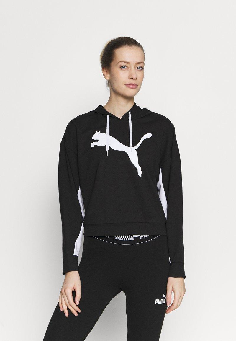 Puma - MODERN  - Bluza z kapturem - black