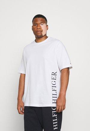 SMALL LOGO TEE - Print T-shirt - white