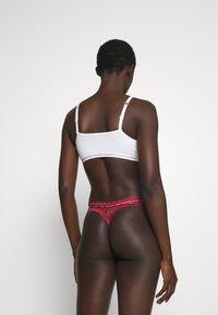 Calvin Klein Underwear - THONG - Tanga - deep sea rose - 2