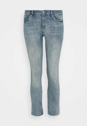 MR SKINNY - Jeansy Skinny Fit - blue light wash