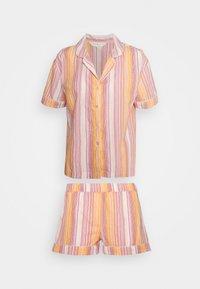 Marks & Spencer London - HANGING SHORT SET - Pyjamas - pink - 4
