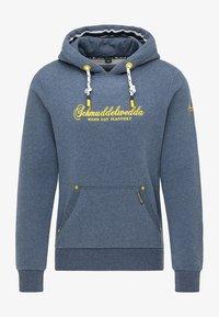 Schmuddelwedda - HOODIE - Hoodie - marine melange - 4