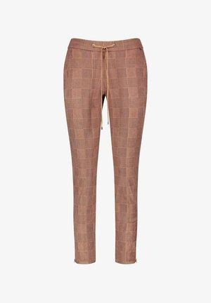 Trousers - camel/braun