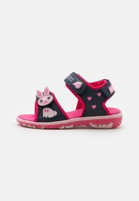 Kappa - Walking sandals - navy/pink - 0