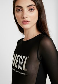 Diesel - UFBY VALERICK BODY - Camiseta de manga larga - black/silver - 3