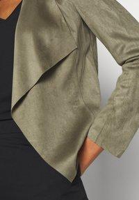 ONLY - ONLFLEUR JACKET - Faux leather jacket - kalamata - 5