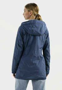 camel active - Reversible - Winter coat - blue - 2