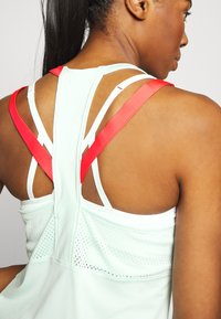 Under Armour - SPORT 2 STRAP TANK - Treningsskjorter - seaglass blue - 4
