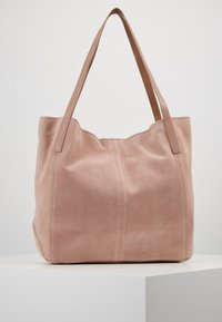 Anna Field - LEATHER - Shopping bag - rose - 3