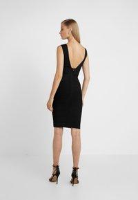 Hervé Léger - OFF SHOULDER BANDAGE DRESS - Shift dress - black - 2