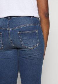 Zizzi - JPOSH NILLE SLIM - Jeans Skinny Fit - blue denim - 5