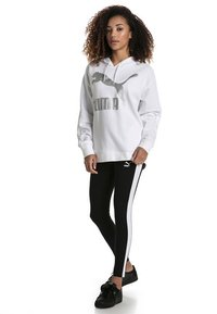 Puma - CLASSICS LOGO T7 LEGGING - Leggings - Trousers - cotton black - 0