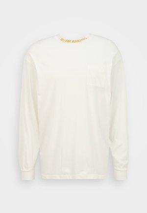 LONG SLEEVE UNISEX - Langærmede T-shirts - notebook white