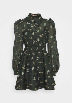 LEONI - Shirt dress - dark olive