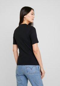 edc by Esprit - CORE HIGH - T-shirt basique - black - 2