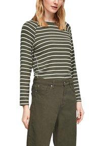 s.Oliver - Jumper - khaki stripes - 4