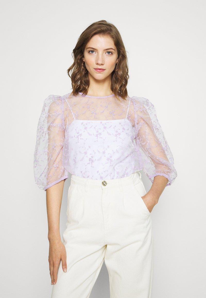Gina Tricot - BEATRIX BLOUSE - Pusero - light purple