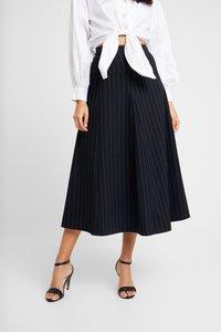 IVY & OAK - MIDI GODET SKIRT - A-line skirt - navy blue - 0