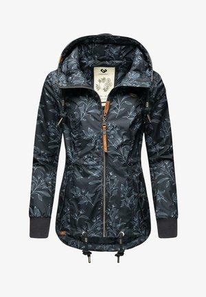 DANKA LEAVES - Outdoor jacket - dark blue