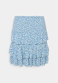 YASLURA SKIRT - A-line skirt - dusk blue/lura