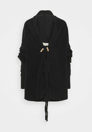 SUPTA - Fleecová bunda - black