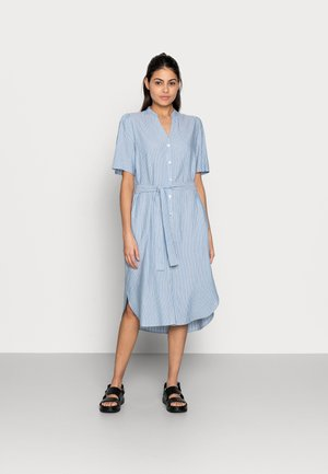 MAKITA BEACH SHIRT DRESS - Shirt dress - powder blue
